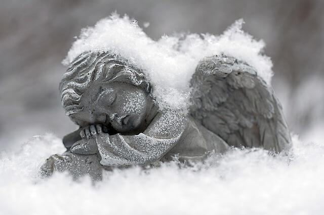 Winter Angel Blessing