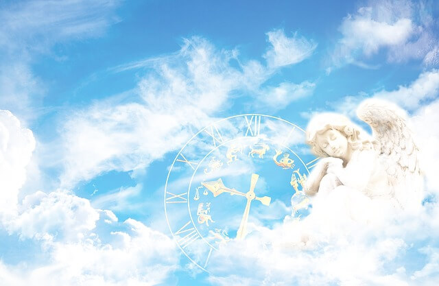 New Year Horoscope angel