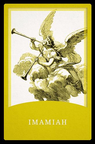 Angelic Tarot Card: Imamiah